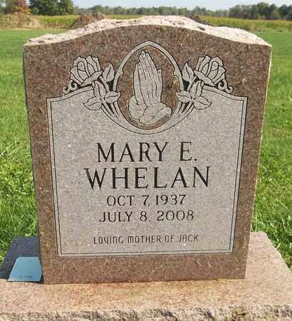 WHELAN, MARY E. - Trumbull County, Ohio | MARY E. WHELAN - Ohio Gravestone Photos