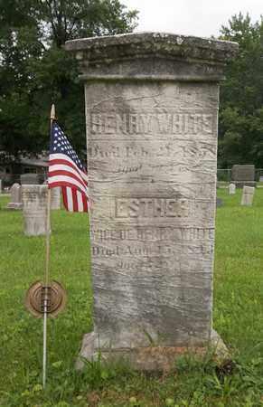 WHITE, HENRY - Trumbull County, Ohio   HENRY WHITE - Ohio Gravestone Photos