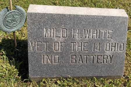 WHITE, MILO H. - Trumbull County, Ohio | MILO H. WHITE - Ohio Gravestone Photos