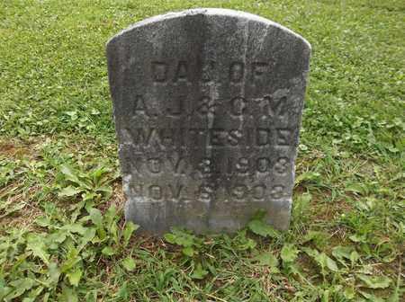 "WHITESIDE, ""BABY"" - Trumbull County, Ohio   ""BABY"" WHITESIDE - Ohio Gravestone Photos"