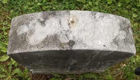 "WHITESIDE, ""BABY"" - Trumbull County, Ohio | ""BABY"" WHITESIDE - Ohio Gravestone Photos"