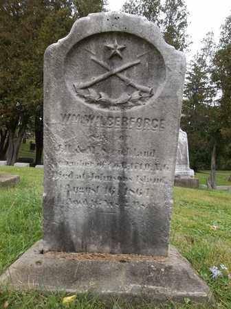 WILBERFORCE, WILLIAM - Trumbull County, Ohio   WILLIAM WILBERFORCE - Ohio Gravestone Photos