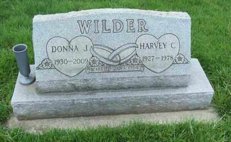 WILDER, DONNA J. - Trumbull County, Ohio | DONNA J. WILDER - Ohio Gravestone Photos