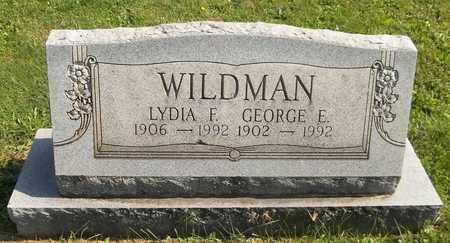 WILDMAN, GEORGE E. - Trumbull County, Ohio   GEORGE E. WILDMAN - Ohio Gravestone Photos