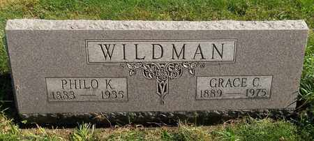 WILDMAN, PHILO K. - Trumbull County, Ohio | PHILO K. WILDMAN - Ohio Gravestone Photos
