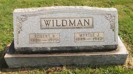 WILDMAN, ROBERT B. - Trumbull County, Ohio | ROBERT B. WILDMAN - Ohio Gravestone Photos