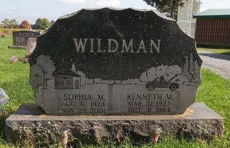 WILDMAN, KENNETH M. - Trumbull County, Ohio | KENNETH M. WILDMAN - Ohio Gravestone Photos