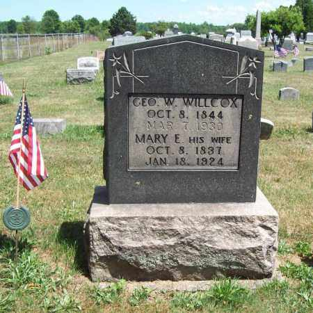 WILLCOX, MARY E. - Trumbull County, Ohio | MARY E. WILLCOX - Ohio Gravestone Photos