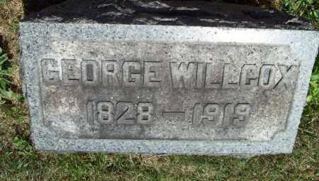 WILLCOX, GEORGE - Trumbull County, Ohio   GEORGE WILLCOX - Ohio Gravestone Photos
