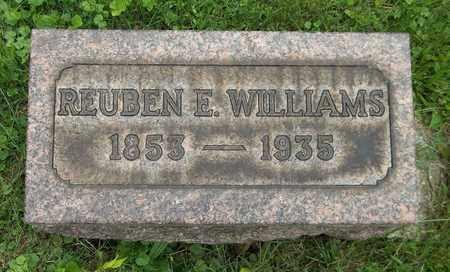 WILLIAMS, REUBEN E. - Trumbull County, Ohio | REUBEN E. WILLIAMS - Ohio Gravestone Photos