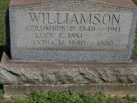 WILLIAMSON, COLUMBUS D. - Trumbull County, Ohio | COLUMBUS D. WILLIAMSON - Ohio Gravestone Photos