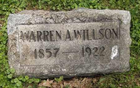 WILLSON, WARREN A. - Trumbull County, Ohio | WARREN A. WILLSON - Ohio Gravestone Photos