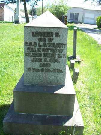 WOLCOTT, LEANDER H. - Trumbull County, Ohio | LEANDER H. WOLCOTT - Ohio Gravestone Photos