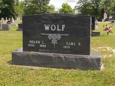 WOLF, HELEN - Trumbull County, Ohio   HELEN WOLF - Ohio Gravestone Photos