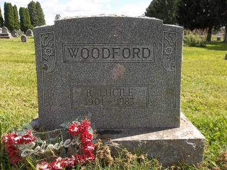 WOODFORD, BERTHA LUCILE - Trumbull County, Ohio | BERTHA LUCILE WOODFORD - Ohio Gravestone Photos
