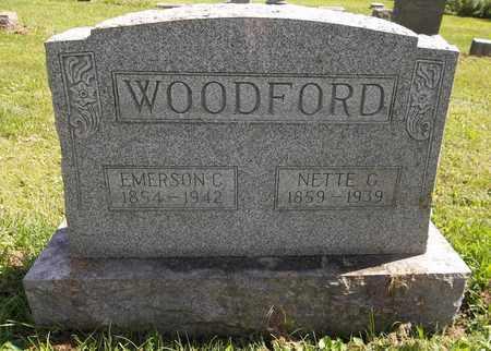 WOODFORD, EMERSON G. - Trumbull County, Ohio | EMERSON G. WOODFORD - Ohio Gravestone Photos
