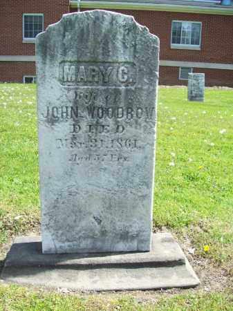 COX WOODROW, MARY - Trumbull County, Ohio | MARY COX WOODROW - Ohio Gravestone Photos