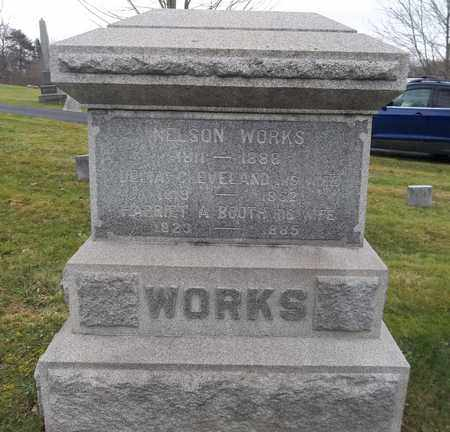 BOOTH WORKS, HARRIET A. - Trumbull County, Ohio   HARRIET A. BOOTH WORKS - Ohio Gravestone Photos