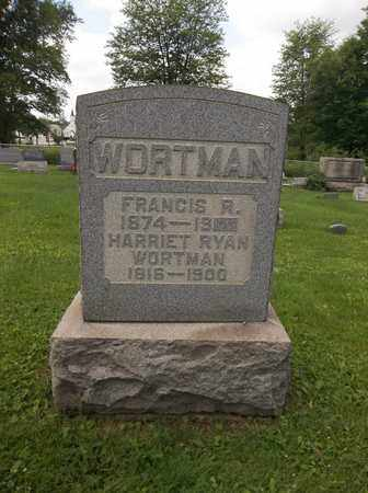 WORTMAN, HARRIET - Trumbull County, Ohio | HARRIET WORTMAN - Ohio Gravestone Photos