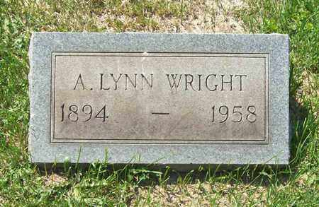 WRIGHT, ALFRED LYNN - Trumbull County, Ohio | ALFRED LYNN WRIGHT - Ohio Gravestone Photos