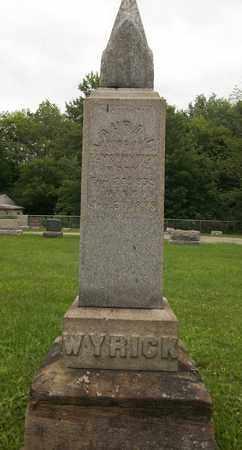 WYRICK, LAURA - Trumbull County, Ohio   LAURA WYRICK - Ohio Gravestone Photos