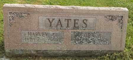 YATES, HARVEY A. - Trumbull County, Ohio | HARVEY A. YATES - Ohio Gravestone Photos