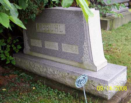 ABBUHL, ARTHUR A. - Tuscarawas County, Ohio | ARTHUR A. ABBUHL - Ohio Gravestone Photos