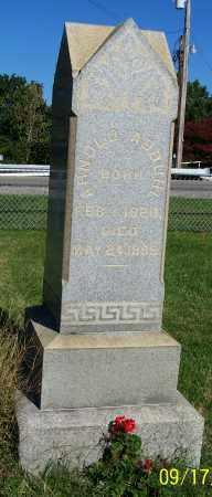 ABBUHL, ARNOLD - Tuscarawas County, Ohio   ARNOLD ABBUHL - Ohio Gravestone Photos