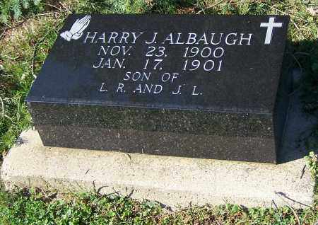 ALBAUGH, HARRY J. - Tuscarawas County, Ohio | HARRY J. ALBAUGH - Ohio Gravestone Photos