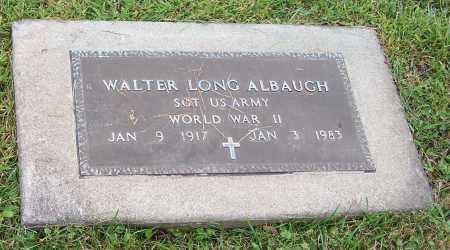ALBAUGH, WALTER LONG - Tuscarawas County, Ohio | WALTER LONG ALBAUGH - Ohio Gravestone Photos