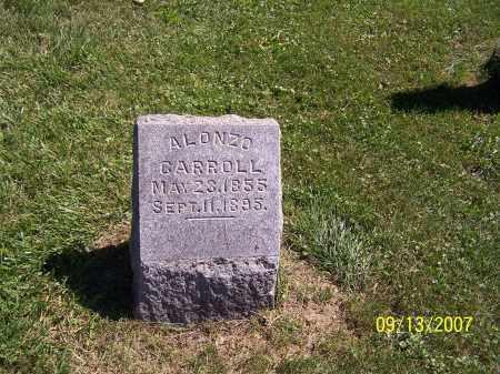 ALONZO, CARROLL - Tuscarawas County, Ohio   CARROLL ALONZO - Ohio Gravestone Photos