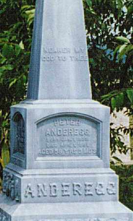 ANDEREGG, PETER - Tuscarawas County, Ohio   PETER ANDEREGG - Ohio Gravestone Photos