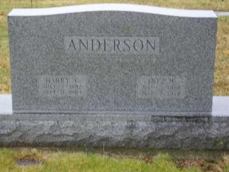 ANDERSON, INEZ M. - Tuscarawas County, Ohio | INEZ M. ANDERSON - Ohio Gravestone Photos