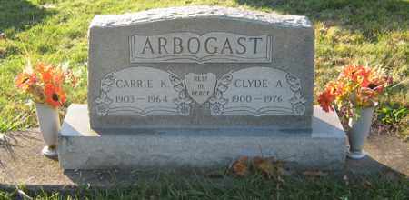 ARBOGAST, CARRIE KATHERINE - Tuscarawas County, Ohio | CARRIE KATHERINE ARBOGAST - Ohio Gravestone Photos