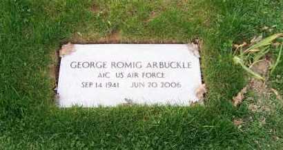 ARBUCKLE, GEORGE ROMIG - Tuscarawas County, Ohio | GEORGE ROMIG ARBUCKLE - Ohio Gravestone Photos