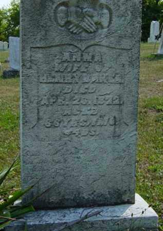 BAKER, ANNA - Tuscarawas County, Ohio | ANNA BAKER - Ohio Gravestone Photos