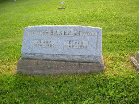BAKER, ELMER - Tuscarawas County, Ohio | ELMER BAKER - Ohio Gravestone Photos