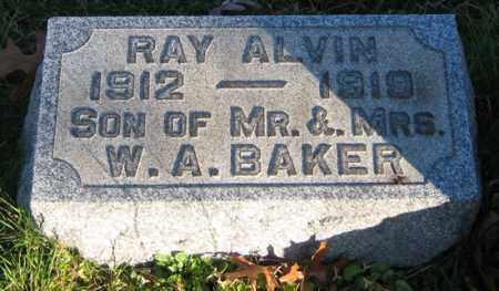 BAKER, RAY - Tuscarawas County, Ohio | RAY BAKER - Ohio Gravestone Photos