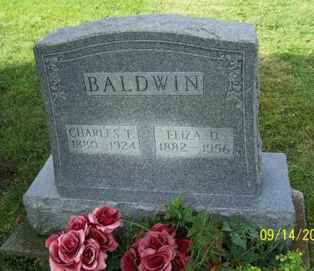 BALDWIN, ELIZA D. - Tuscarawas County, Ohio | ELIZA D. BALDWIN - Ohio Gravestone Photos