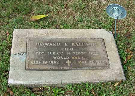 BALDWIN, HOWARD E.  (MIL) - Tuscarawas County, Ohio   HOWARD E.  (MIL) BALDWIN - Ohio Gravestone Photos