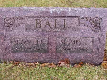 BALL, ELIZABETH R. - Tuscarawas County, Ohio | ELIZABETH R. BALL - Ohio Gravestone Photos