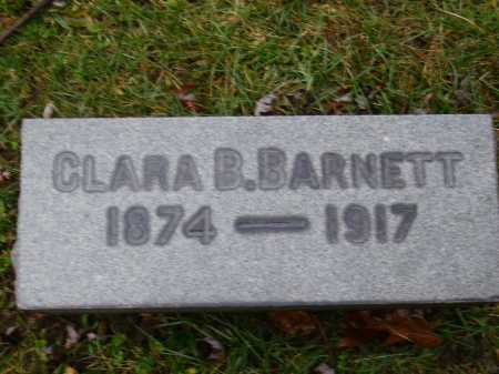 CLEEK BARNETT, CLARA B. - Tuscarawas County, Ohio | CLARA B. CLEEK BARNETT - Ohio Gravestone Photos