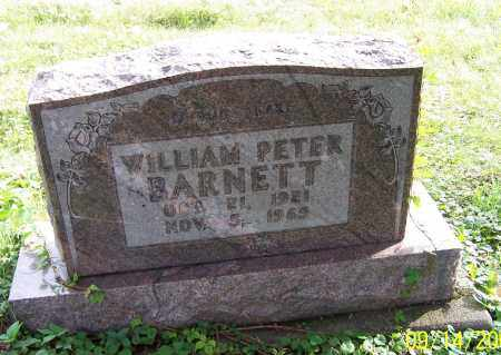 BARNETT, WILLIAM PETER - Tuscarawas County, Ohio | WILLIAM PETER BARNETT - Ohio Gravestone Photos