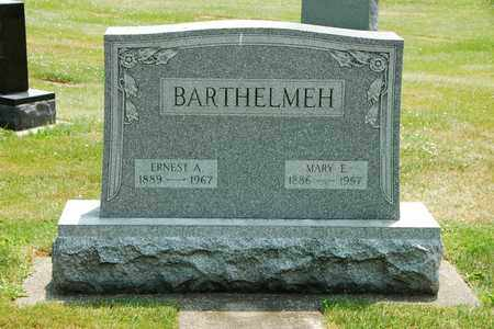 BARTHELMEH, ERNEST A. - Tuscarawas County, Ohio | ERNEST A. BARTHELMEH - Ohio Gravestone Photos