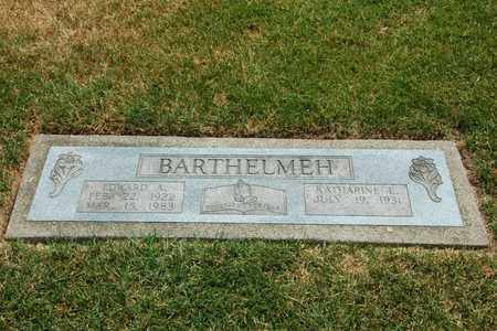 BARTHELMEH, EDWARD A. - Tuscarawas County, Ohio | EDWARD A. BARTHELMEH - Ohio Gravestone Photos