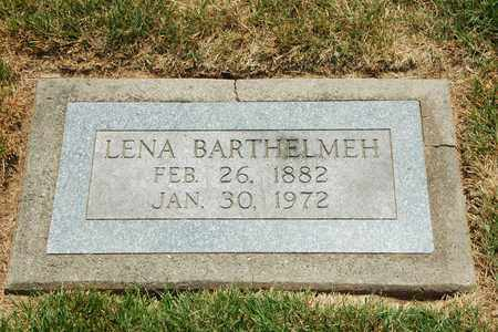 BARTHELMEH, LENA - Tuscarawas County, Ohio | LENA BARTHELMEH - Ohio Gravestone Photos