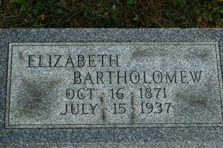 OHLER BARTHOLOMEW, ELIZABETH - Tuscarawas County, Ohio | ELIZABETH OHLER BARTHOLOMEW - Ohio Gravestone Photos