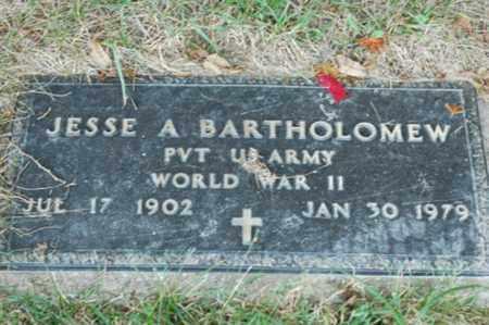 BARTHOLOMEW, JESSE A. - Tuscarawas County, Ohio | JESSE A. BARTHOLOMEW - Ohio Gravestone Photos