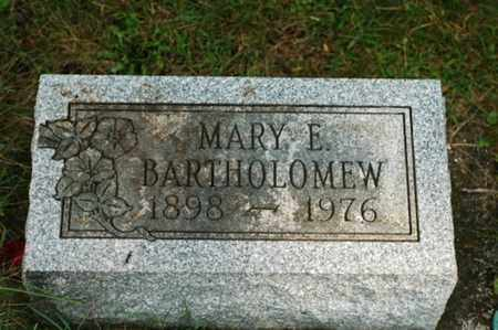 BARTHOLOMEW, MARY ELLEN - Tuscarawas County, Ohio   MARY ELLEN BARTHOLOMEW - Ohio Gravestone Photos