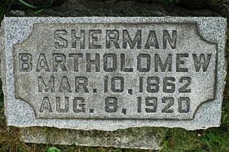 BARTHOLOMEW, SHERMAN - Tuscarawas County, Ohio | SHERMAN BARTHOLOMEW - Ohio Gravestone Photos